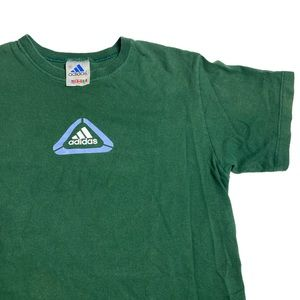 Vintage 90's  3 Stripe Adidas Logo T-shirt 🔥🔥🔥